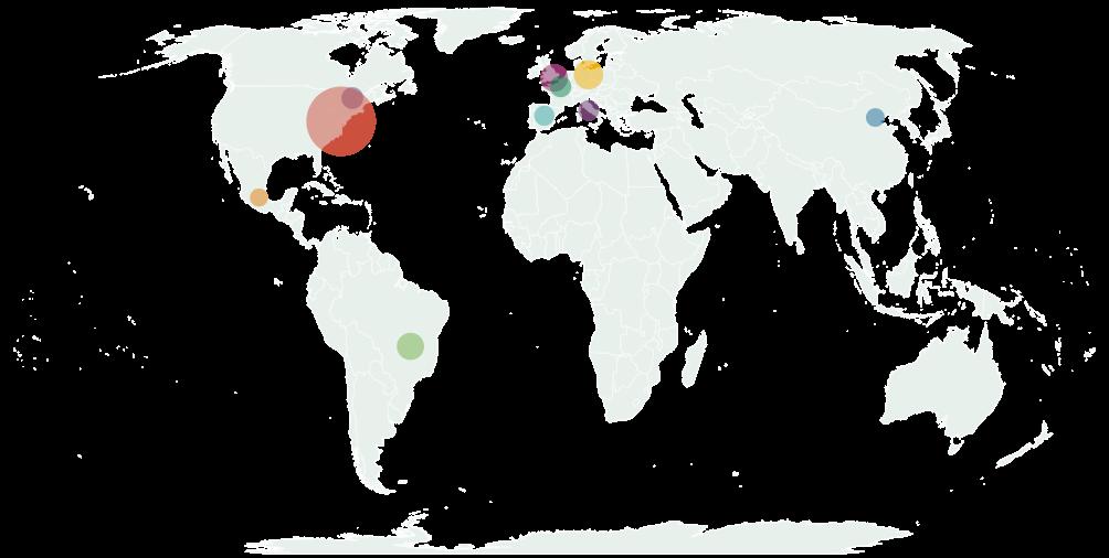 Мировые лидеры фитнес-индустрии по числу клиентов