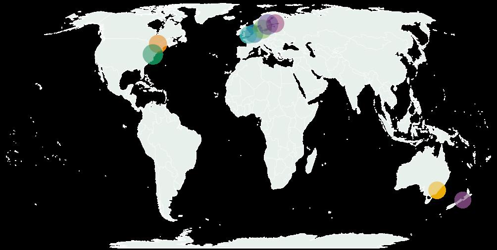 Мировые лидеры фитнес-индустрии по проценту занимающихся